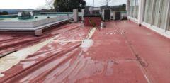 某ゴルフ場の屋上防水改修工事の施工事例更新のお知らせ